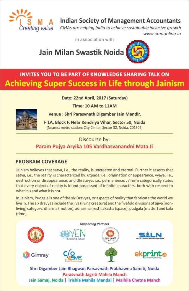 Jainism Program 22.4.17